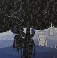 tidal pointman black (designed by hardy blechman) by futura 2000 & dpm:maharishi