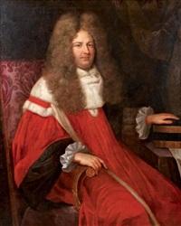 portrait d'un magistrat by jean ranc