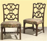 chairs from the villa beer (pair) by oskar wlach