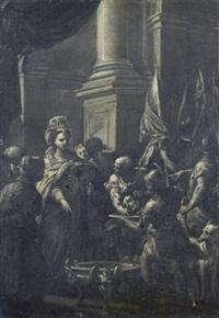 salomè con la testa del battista by giuseppe varotti