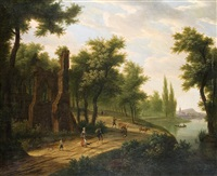 an der klosterruine by frans swagers