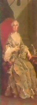 a) ritratto di gentildonna; b) ritratto di gentiluomo by carlo amalfi