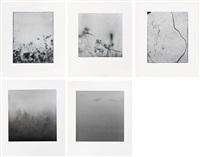 weed series: wv008, wv0029, wv010 deep fog series: df004, df051(5 works) by min byung hun
