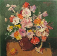 vase with flowers by paul atanasiu