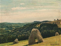 straw bales in sauerland by maximilien (max) clarenbach