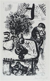 der tisch by marc chagall