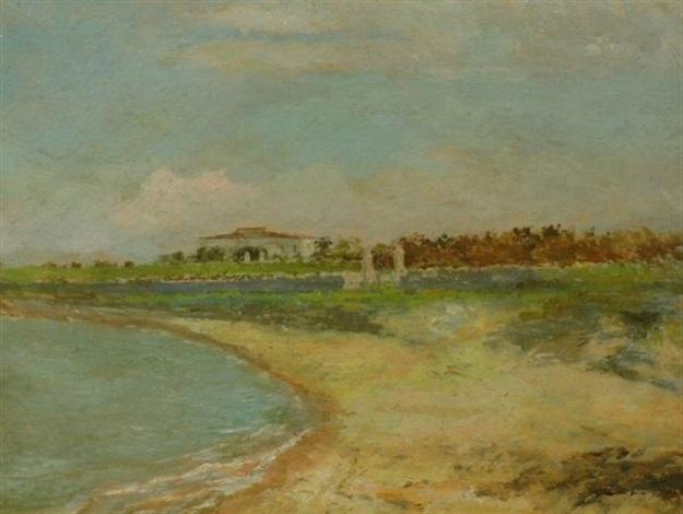 beach scene by caterina laudani sciuti