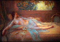 l'odalisque by delphin enjolras