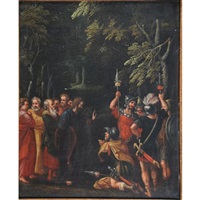 le remerciement du centurion au christ guérisseur by flemish school (17)