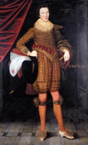 portrait of sir richard broke by gilbert jackson