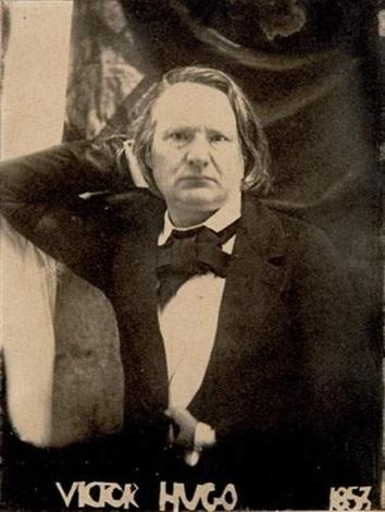 portrait de victor hugo (1802-1885) by auguste vacquerie