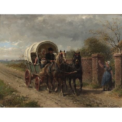 off to market by ludwig obersteiner