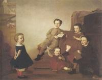 portrait de famille by barnett samuel marks