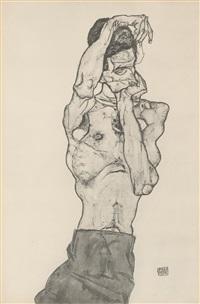 zeichnungen - egon schiele 1917 (bk w/12 works) by egon schiele