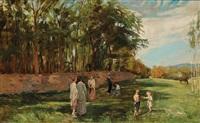 nachmittag im park by rudolf böttger
