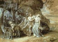 bacchus et ariane by jean francois léonor merimee