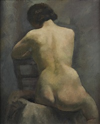 nude, paris (etude) by lois mailou jones