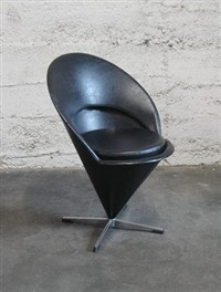 cone chair k1 by verner panton