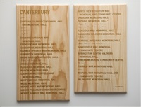 canterbury honours board by fiona jack
