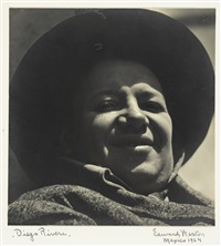 diego rivera by edward weston