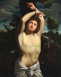 the martyrdom of saint sebastian by guido reni