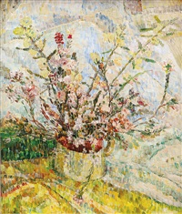 wildflowers in jug by grace cossington smith