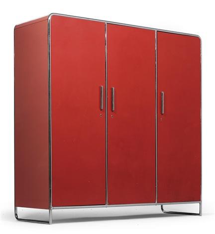 a wardrobe model b 101 by hermann john hagemann