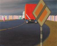 radial road by jeffrey smart