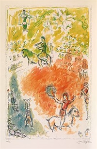 la parade by marc chagall