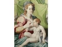 the madonna and child by francesco del brina