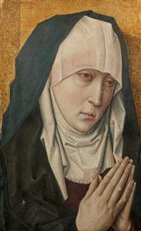 visage de vierge de douleur by flemish school (18)