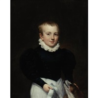 portrait of a boy by samuel lovett waldo