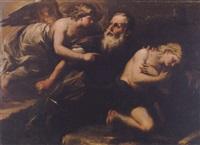 the sacrifice of isaac by giuseppe simonelli
