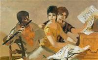 la leçon de musique by lucien joseph fontanarosa