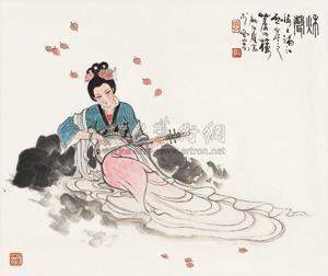 秋声图 figure by gu bingxin