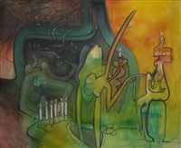 le progress espirituel by roberto matta