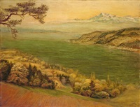 frühling am untersee by otto dix