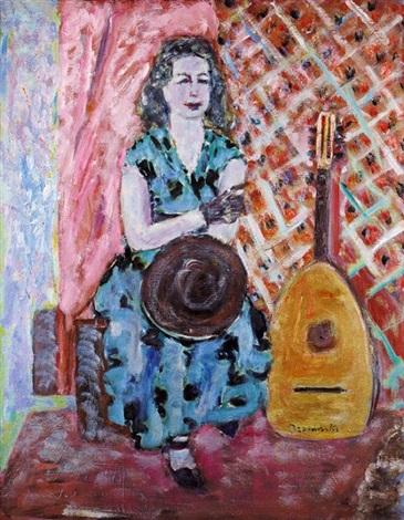 portret żony by czeslaw rzepinski