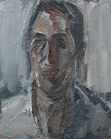 portrait dhomme de face by fermin aguayo