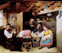 in der stube by johann baptist metzler von andelberg