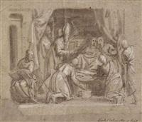 la mort de la vierge by carletto carliari