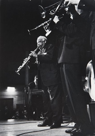 sidney bechet by dennis stock