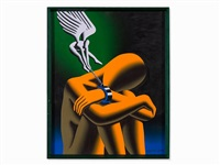 a rough ride with a bright side by mark kostabi