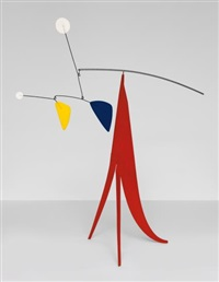 janey waney (intermediate maquette) by alexander calder