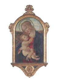the madonna and child by master of san miniato