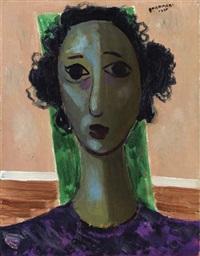 cabeça de mulher - head of woman by candido portinari