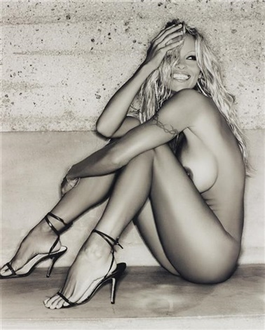 pamela anderson smiling no1 hollywood by sante dorazio