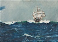 australian clipper - the roaring forties by david roy macgregor