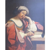 the persian sibyl by guercino