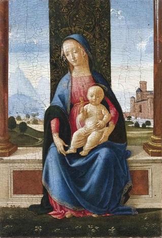 madonna col bambino by domenico ghirlandaio